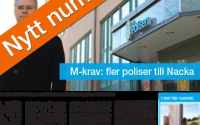 Nytt nummer av Nackabladet finns ute nu