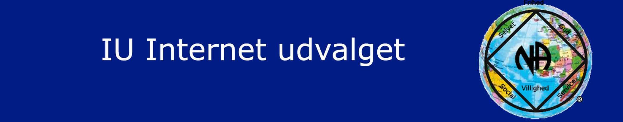 Internet udvalget IU banner