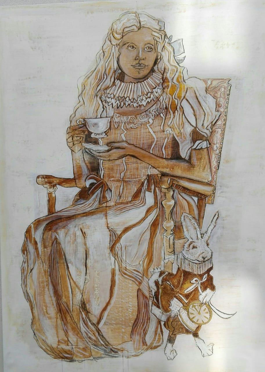 Malerei Nadine Scherrer