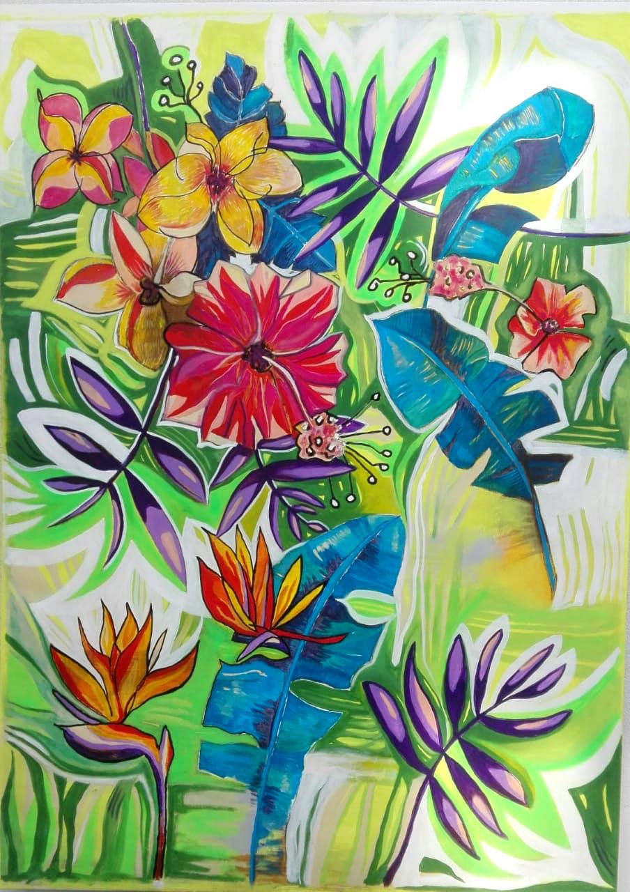 Nadine Scherrer Malerei