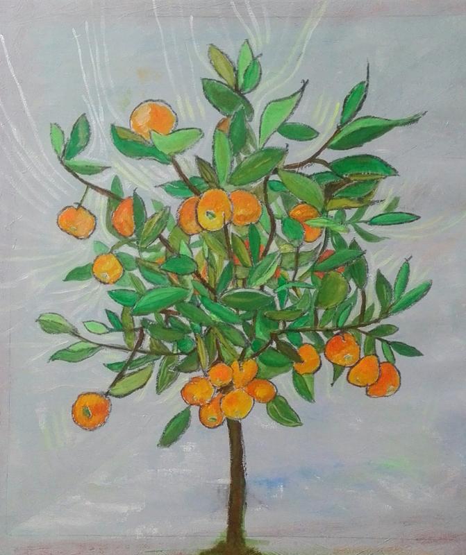 Orangenbaum Nadine Scherrer