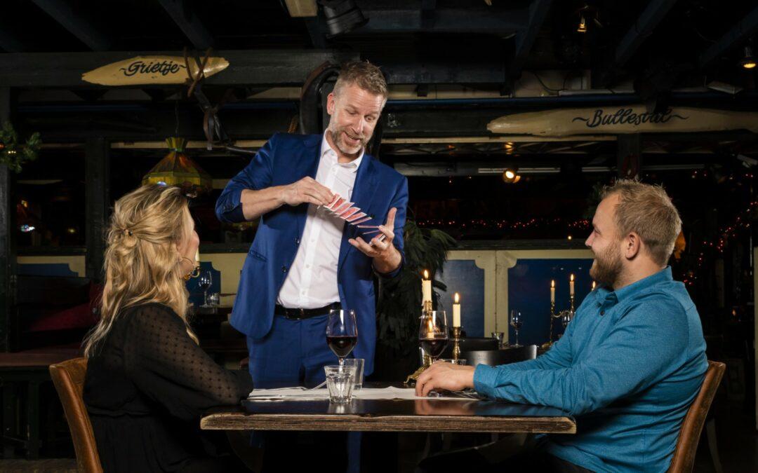 Magic Cabaret Theater diner met Rob en Emiel