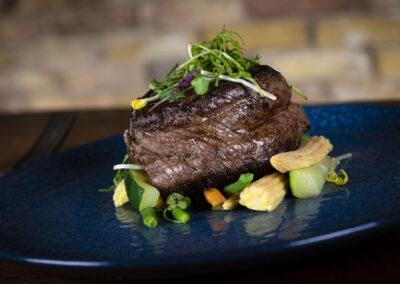 Nadorst-restaurant-feestlocatie-uitspanning-vlees-meat-tournados-biefstuk-close-upOmgeving Hoorn Restaurant De Nadorst