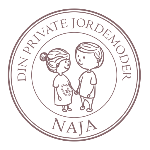 Din Private Jordemoder Naja logo