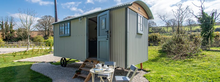 Nanpusker Glamping Holidays Cornwall quiet location