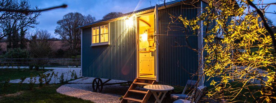 Gwithian Shepherds Hut Nanpusker Glamping