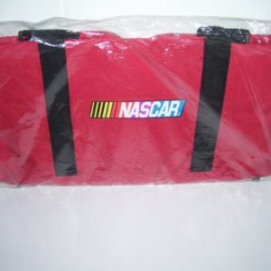 NASCAR LOGO COLLECTIBLE GYM DUFFLE BANK OF AMERICA BAG