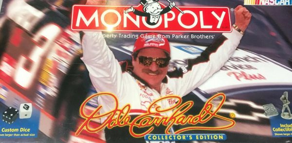 Dale Earnhardt NASCAR MONOPOLY Collector's Edition