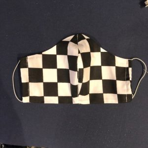 NASCAR Checkered Flag Anti Pollution Face Mask