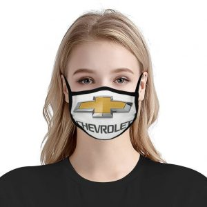 Chevy Logo Anti Pollution Face Mask