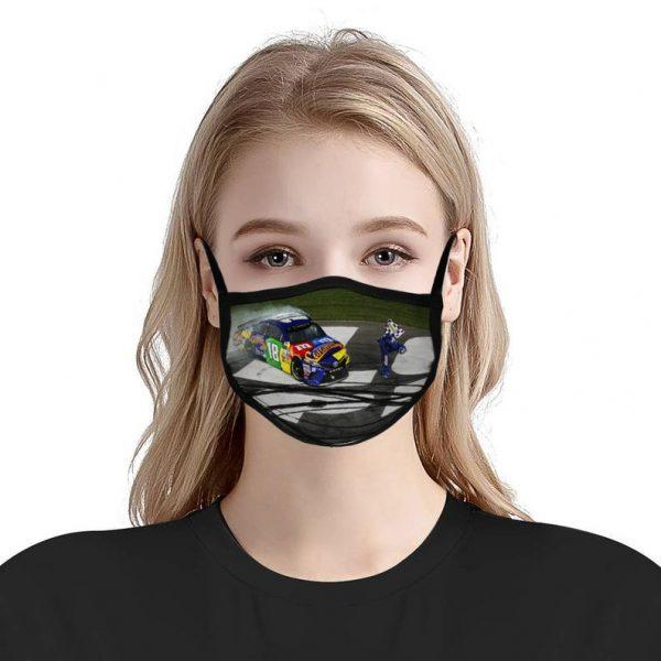 "Kyle Busch ""Bow"" Anti Pollution Face Mask"
