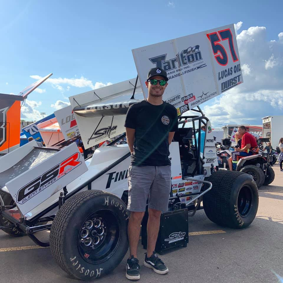 Kyle Larson massive crash
