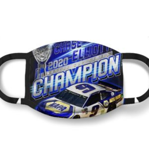 Chase Elliott 2020 Champion Face Mask