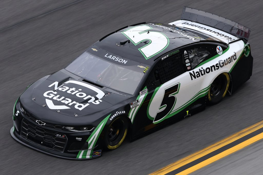 Kyle Larson Daytona Road course