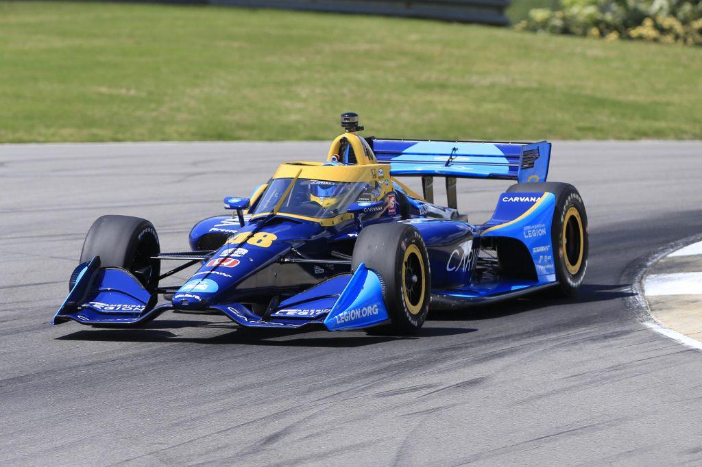 Jimmie Johnson IndyCar Debut
