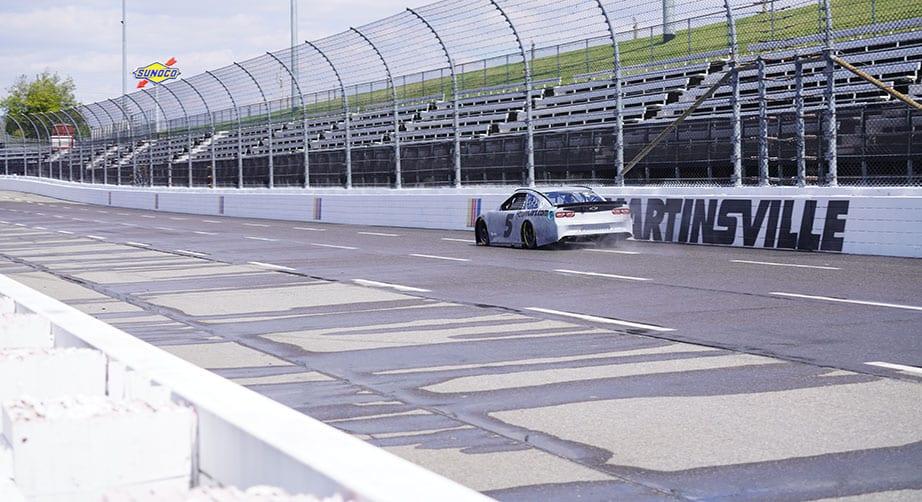 Kyle Larson approves NASCAR short-track rain tires after testing