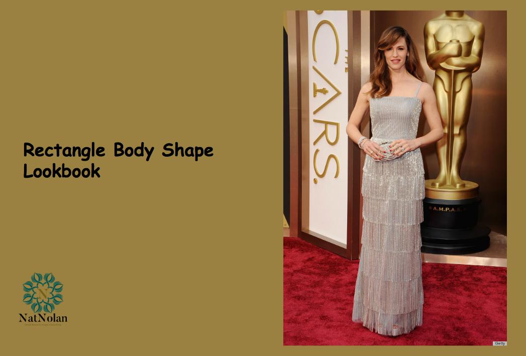 Rectangle Body Shape Image