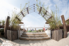 Levende boog strandbar