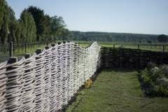 Vloeiende lijnen in het Polderlandschap