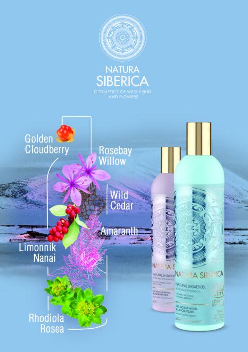 Shower Gel Tundra Flowers