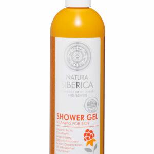 Vitamins for skin Showergel