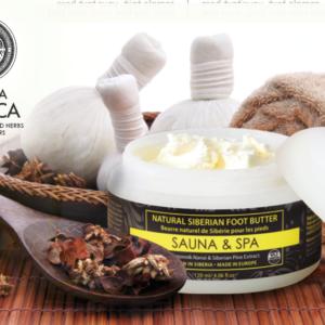Sauna & Spa Foot Butter