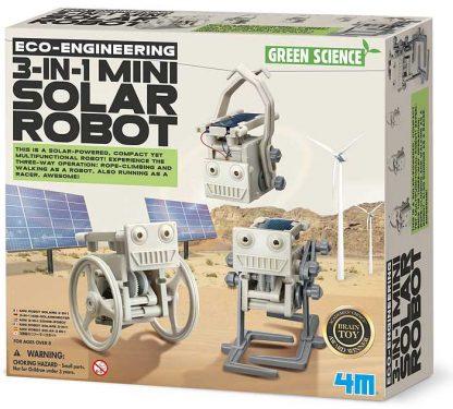 experimentlåda för barn - solenergirobot