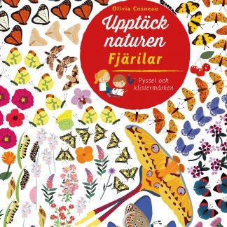Upptäck naturen Fjärilar - pysselbok
