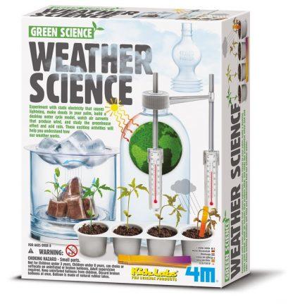 Väderexperiment för barn