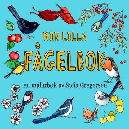 Min lilla fågelbok målarbok