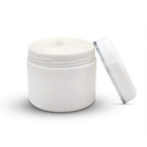 Cbd Pain Cream With Lid Zijkant