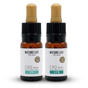 Nature Cure Cbd / CBDA Oil Raw