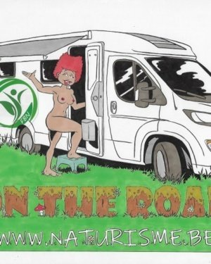 """Stickers """"FBN on the road"""""""