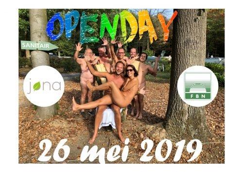 26 mei 2019: opendag @ Op de naturisten terreinen