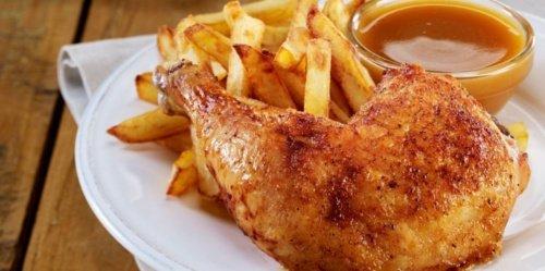 Athena Helios: Halve kip met frieten avond / Soirée demi-poulet frites