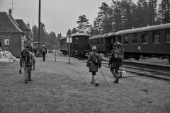 Nytårstur.-Vrads-veteranbane-station