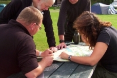 Dagens-rute-diskuteres-i-Fort-Augustus-Skotland