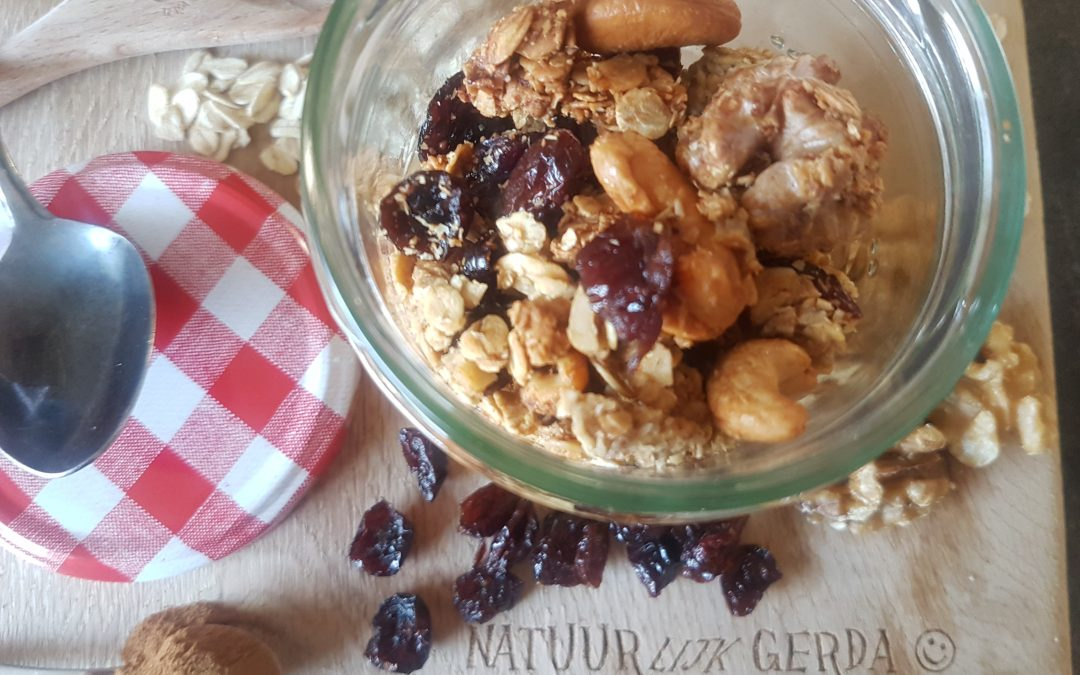 Gerda's huisgemaakte granolala