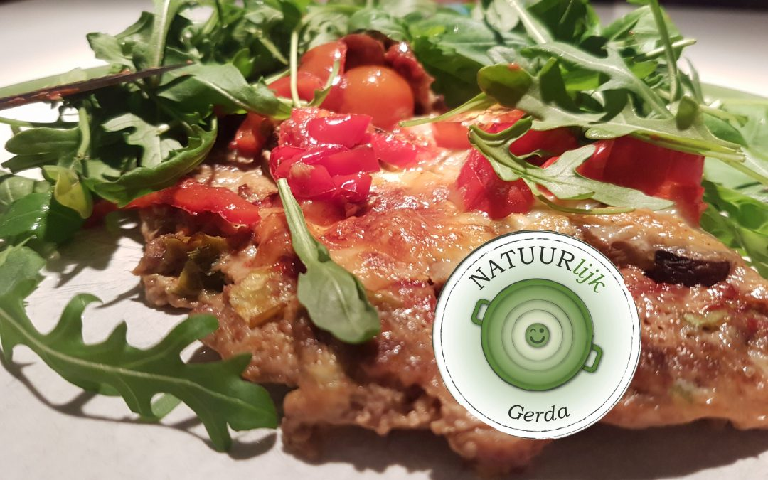 Gerda's pizza voor èchte mannen