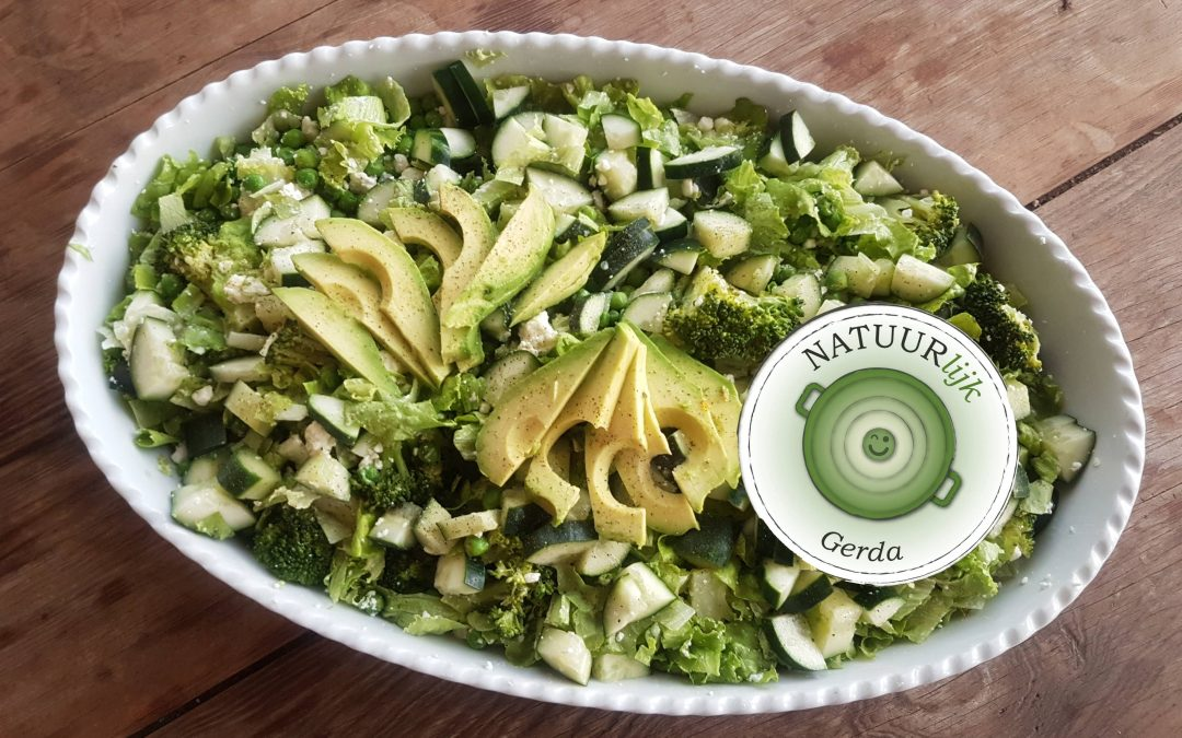 Gerda's Madeiriaanse groene salade