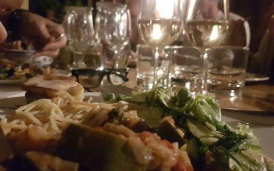 Dinner with 12 strangers