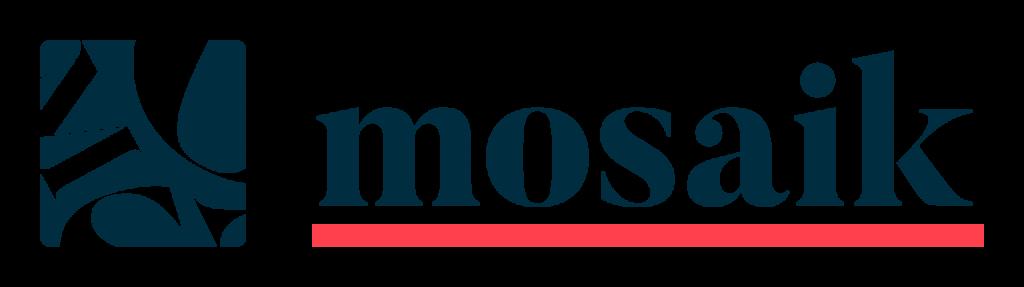 Logotyp Mosaik av Naula Design