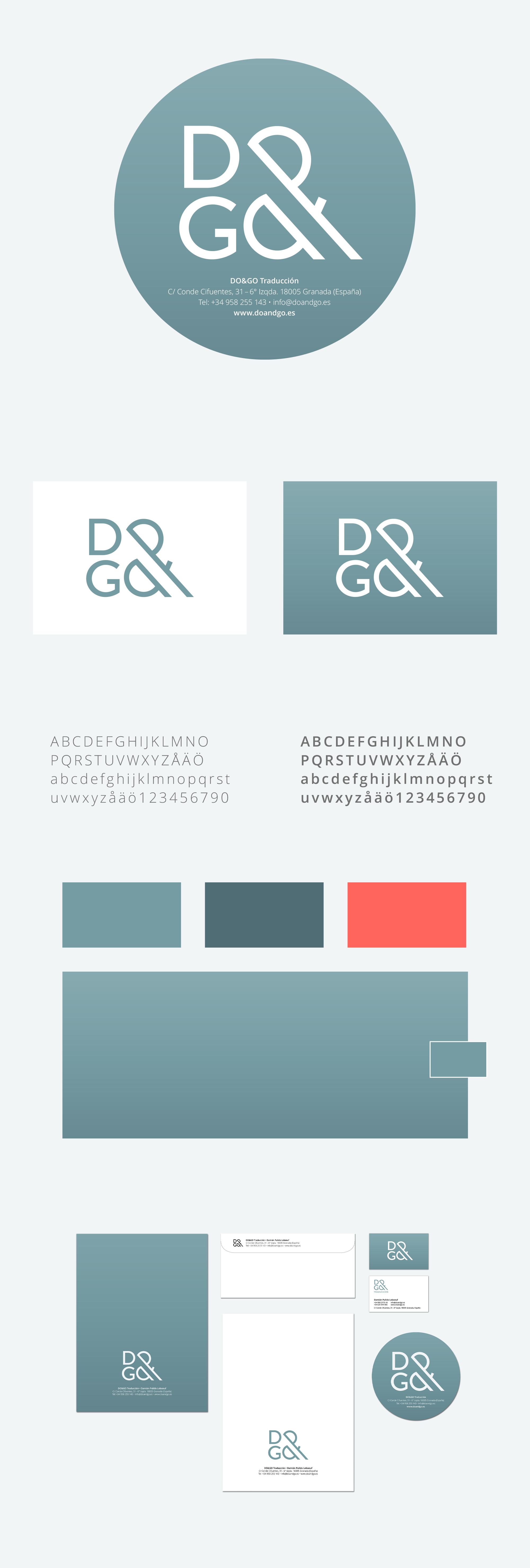 Logotyp DO&GO med grafisk profil