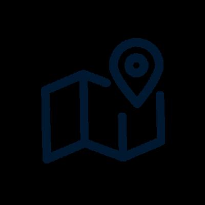 Map planning icon