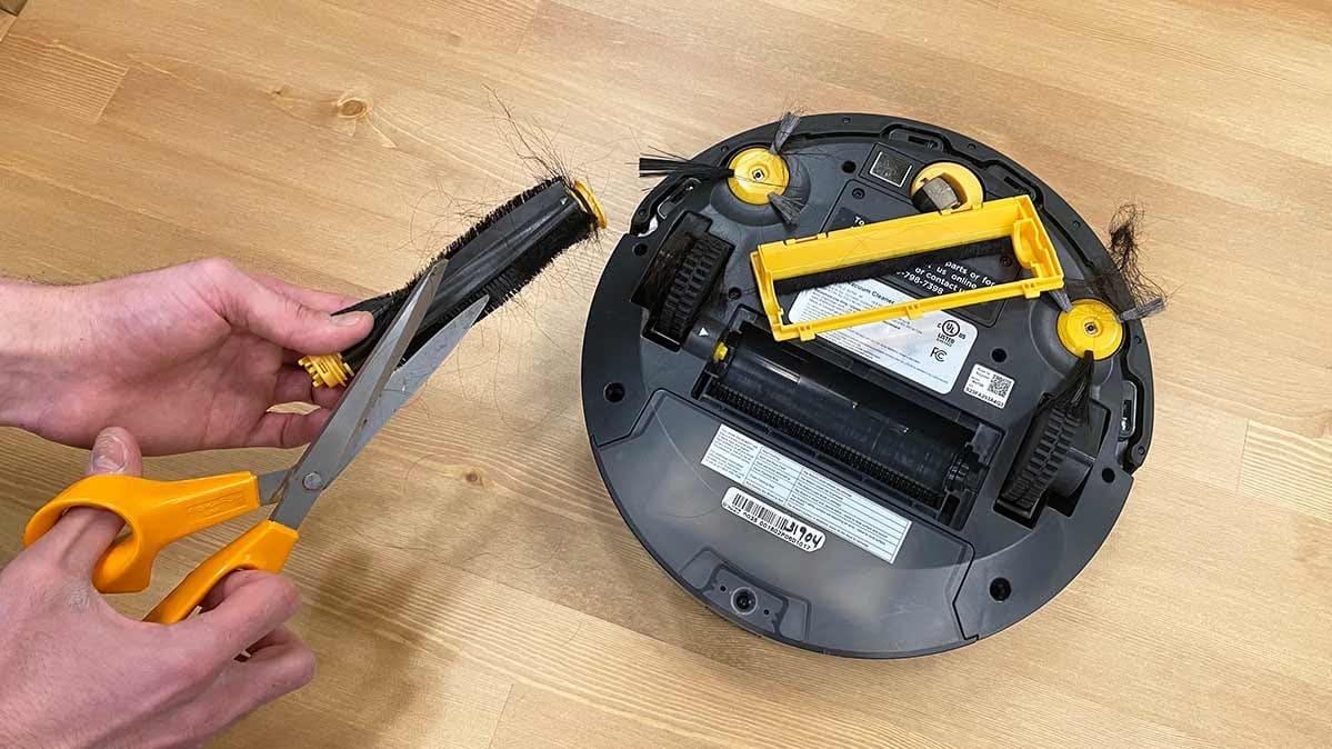 Hvordan renser man en robotstøvsuger
