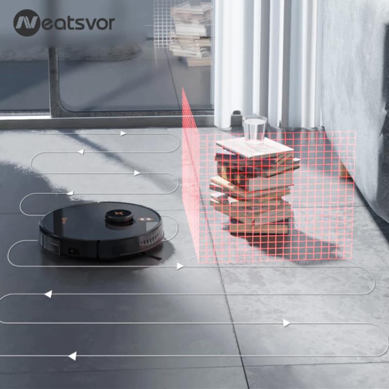 Neatsvor x600 Pro robotstøvsuger sensor