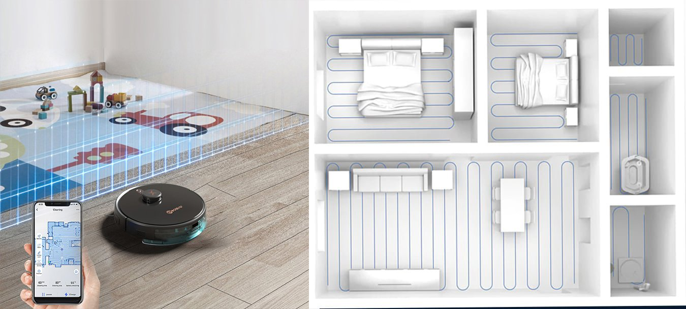 Robotstøvsuger med vask Neatsvor x600 pro