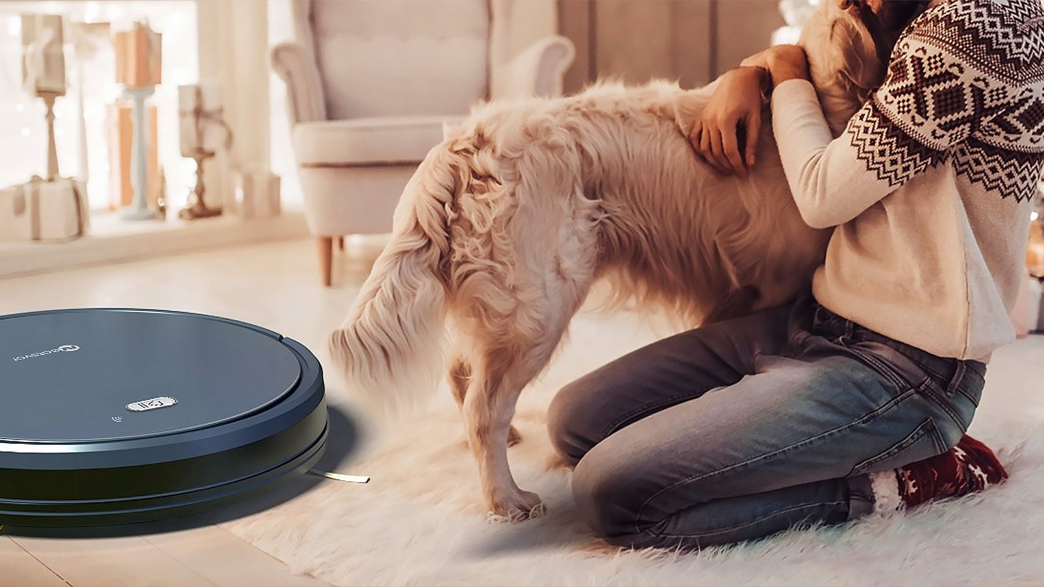 X520 med hund og menneske