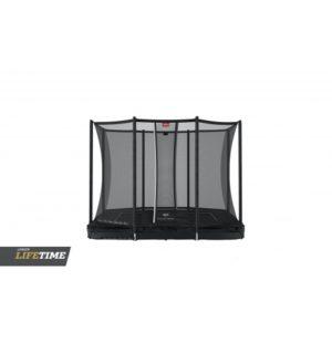BERG Ultim Favorit 280 Inground Sort inkl Sikkerhedsnet Comfort