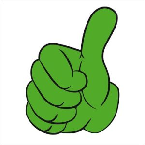 fordele - thumbs up